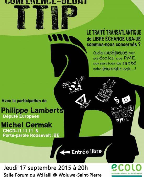 Conférence-débat TTIP