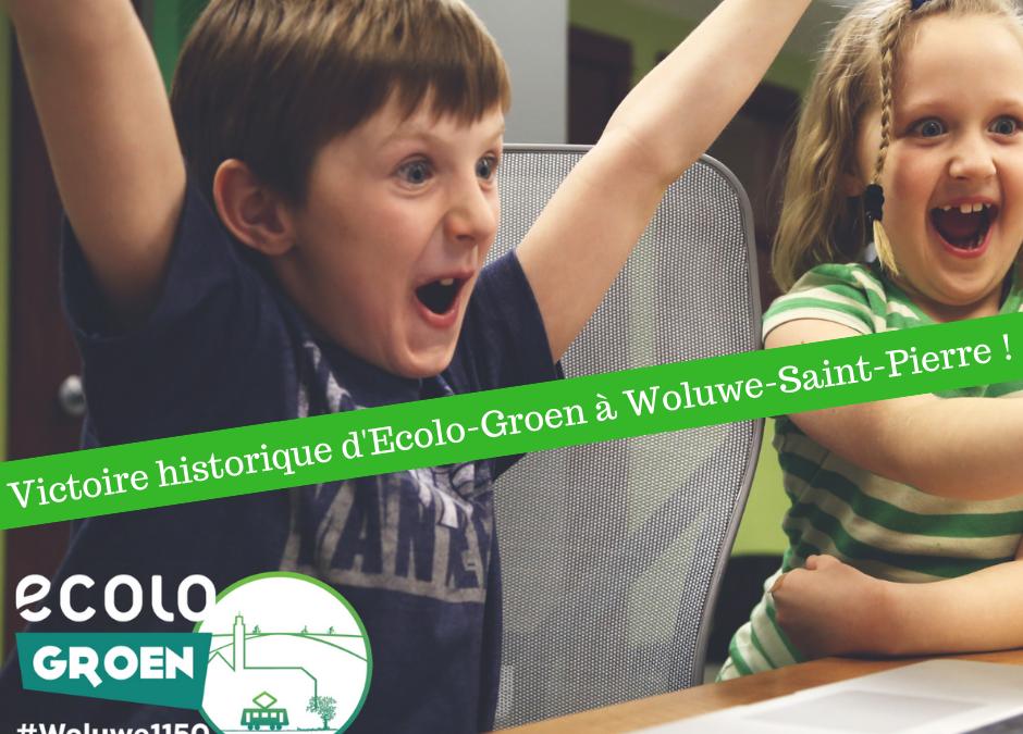Ecolo-Groen réussi une percée historique à Woluwe-Saint-Pierre